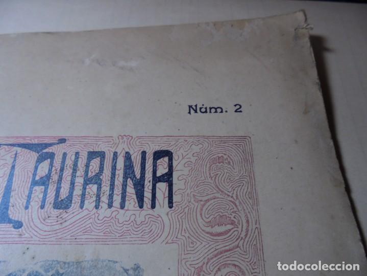 Tauromaquia: magnificas 8 revistas antiguas la ilustracion taurina del 1901 - Foto 27 - 247329780