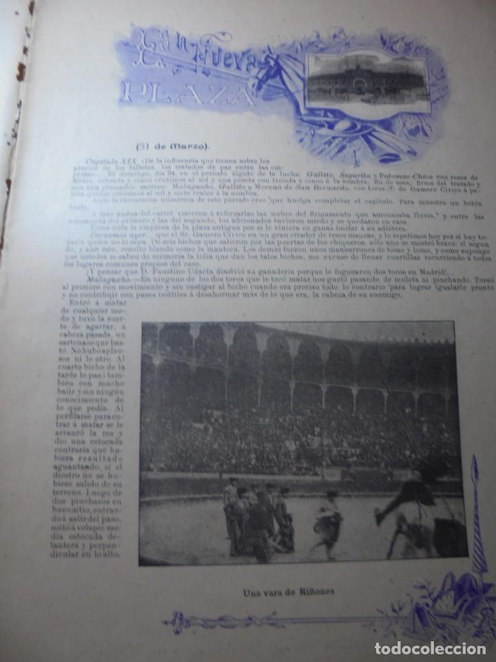 Tauromaquia: magnificas 8 revistas antiguas la ilustracion taurina del 1901 - Foto 31 - 247329780