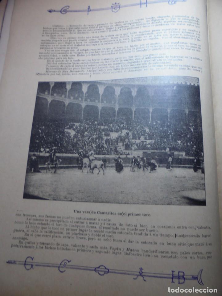 Tauromaquia: magnificas 8 revistas antiguas la ilustracion taurina del 1901 - Foto 32 - 247329780