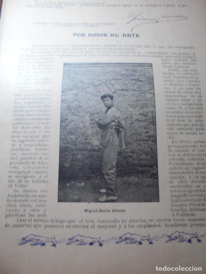 Tauromaquia: magnificas 8 revistas antiguas la ilustracion taurina del 1901 - Foto 33 - 247329780