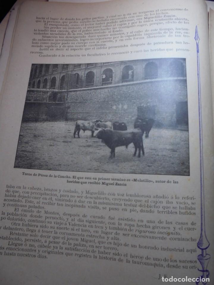 Tauromaquia: magnificas 8 revistas antiguas la ilustracion taurina del 1901 - Foto 34 - 247329780