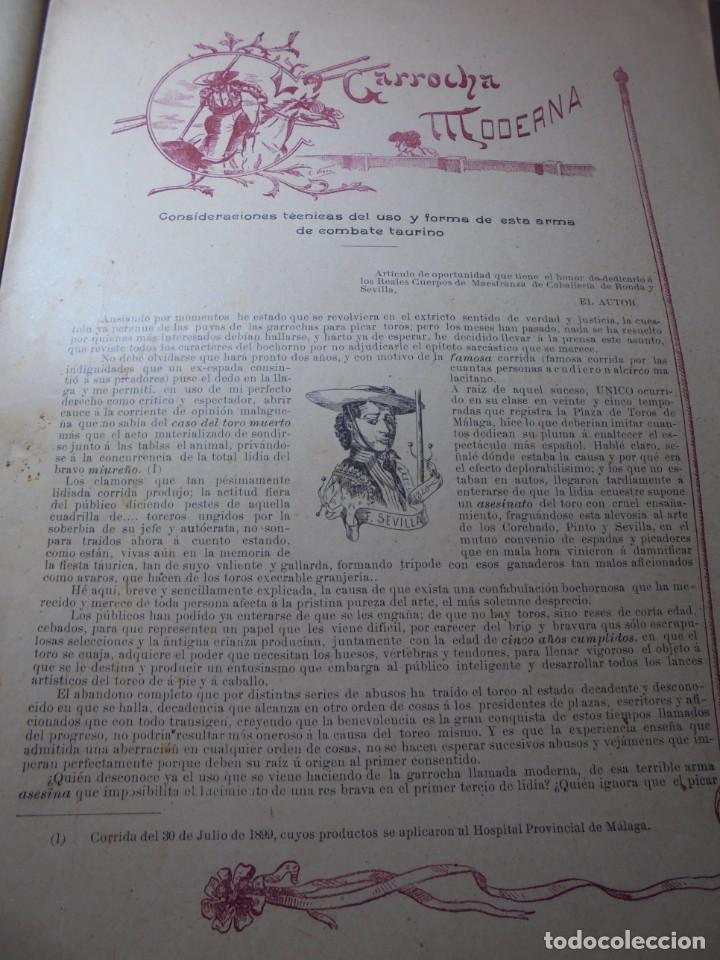Tauromaquia: magnificas 8 revistas antiguas la ilustracion taurina del 1901 - Foto 35 - 247329780