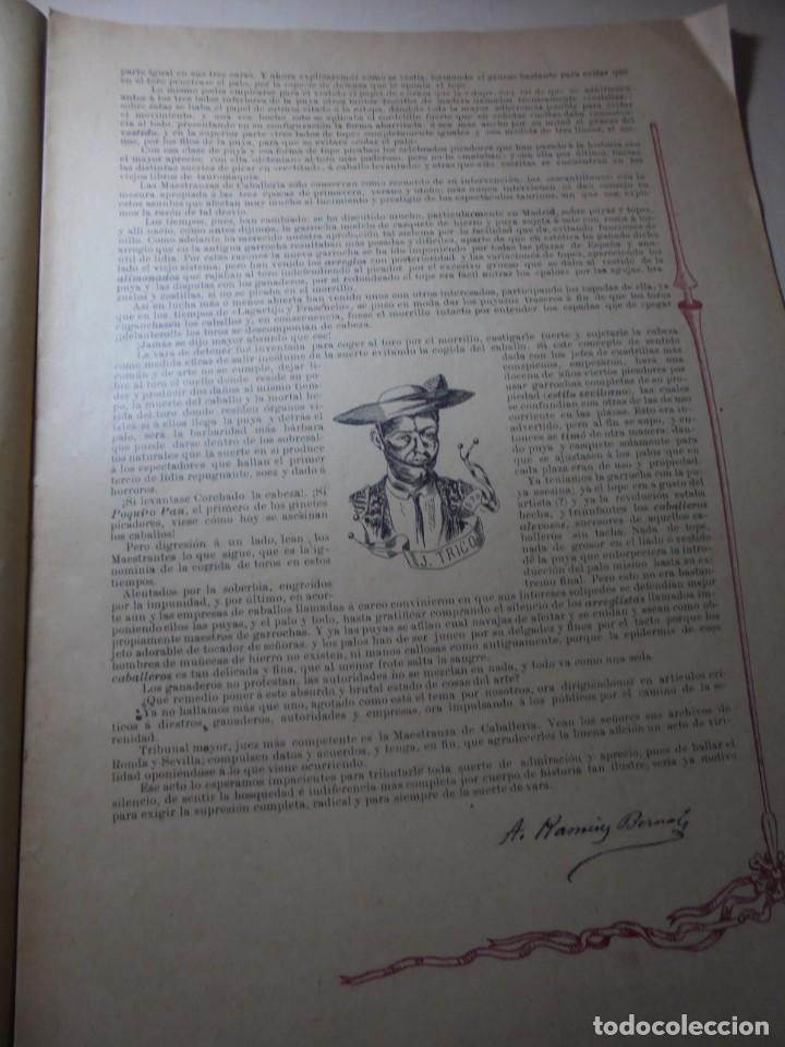 Tauromaquia: magnificas 8 revistas antiguas la ilustracion taurina del 1901 - Foto 37 - 247329780