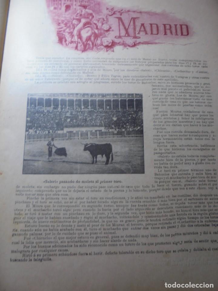 Tauromaquia: magnificas 8 revistas antiguas la ilustracion taurina del 1901 - Foto 39 - 247329780