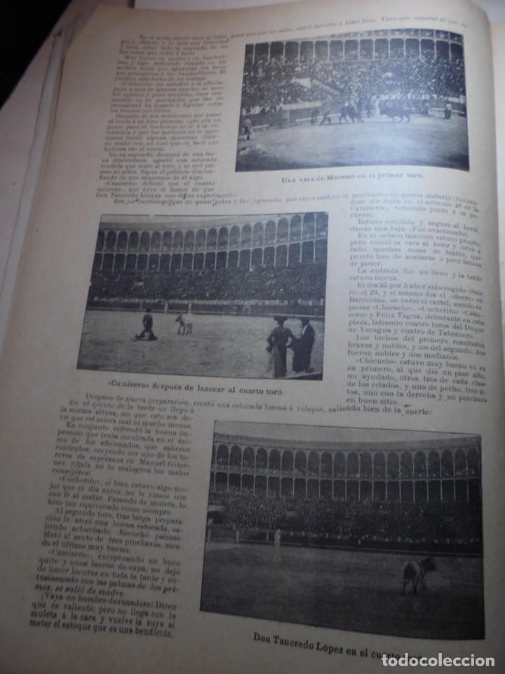 Tauromaquia: magnificas 8 revistas antiguas la ilustracion taurina del 1901 - Foto 40 - 247329780