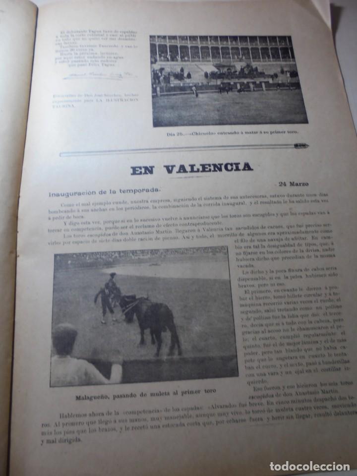 Tauromaquia: magnificas 8 revistas antiguas la ilustracion taurina del 1901 - Foto 41 - 247329780