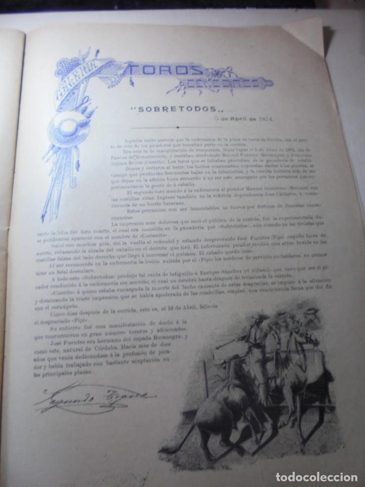 Tauromaquia: magnificas 8 revistas antiguas la ilustracion taurina del 1901 - Foto 43 - 247329780