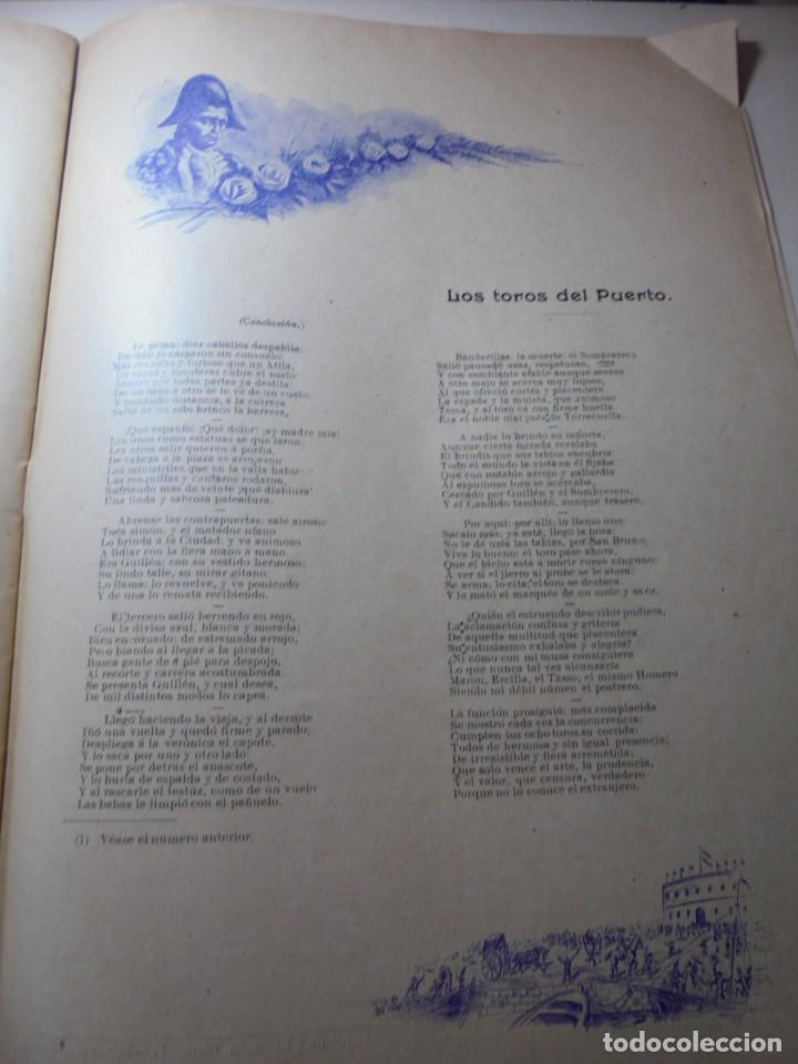 Tauromaquia: magnificas 8 revistas antiguas la ilustracion taurina del 1901 - Foto 45 - 247329780