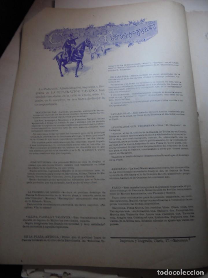 Tauromaquia: magnificas 8 revistas antiguas la ilustracion taurina del 1901 - Foto 46 - 247329780