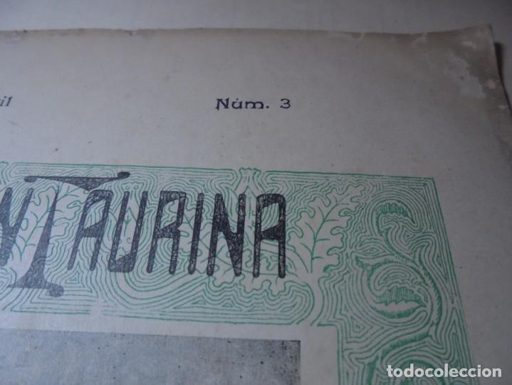 Tauromaquia: magnificas 8 revistas antiguas la ilustracion taurina del 1901 - Foto 50 - 247329780