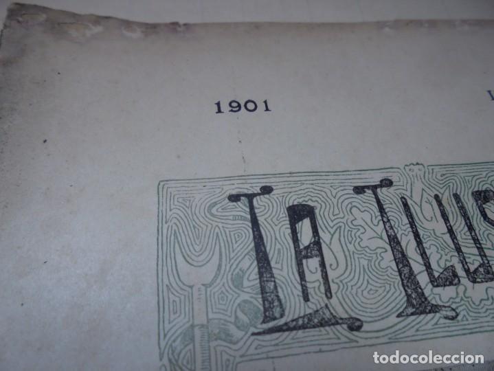 Tauromaquia: magnificas 8 revistas antiguas la ilustracion taurina del 1901 - Foto 51 - 247329780