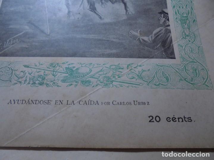 Tauromaquia: magnificas 8 revistas antiguas la ilustracion taurina del 1901 - Foto 52 - 247329780