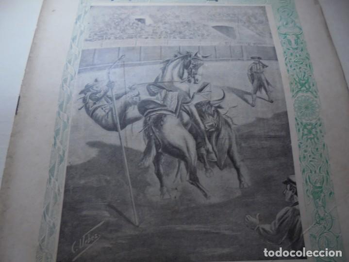 Tauromaquia: magnificas 8 revistas antiguas la ilustracion taurina del 1901 - Foto 53 - 247329780
