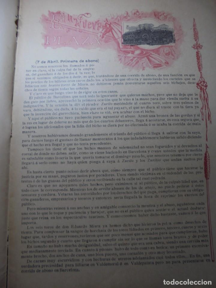 Tauromaquia: magnificas 8 revistas antiguas la ilustracion taurina del 1901 - Foto 54 - 247329780