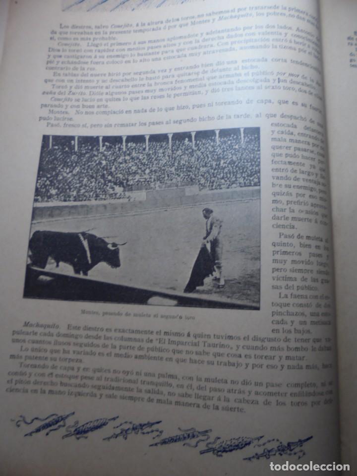Tauromaquia: magnificas 8 revistas antiguas la ilustracion taurina del 1901 - Foto 55 - 247329780
