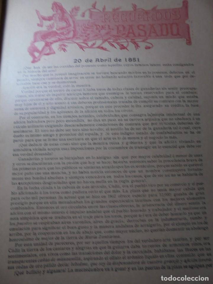 Tauromaquia: magnificas 8 revistas antiguas la ilustracion taurina del 1901 - Foto 58 - 247329780