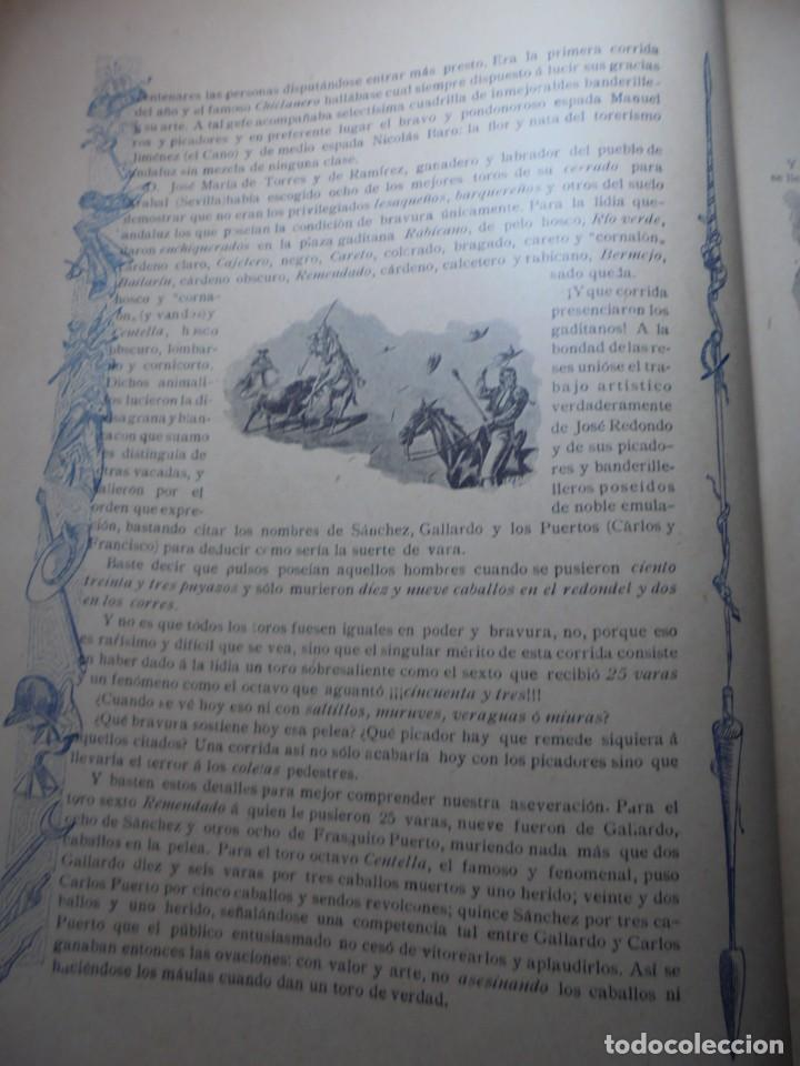 Tauromaquia: magnificas 8 revistas antiguas la ilustracion taurina del 1901 - Foto 59 - 247329780