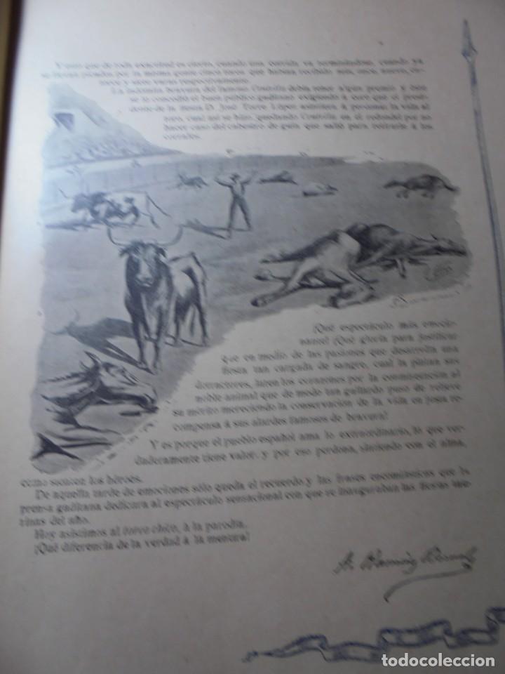 Tauromaquia: magnificas 8 revistas antiguas la ilustracion taurina del 1901 - Foto 60 - 247329780