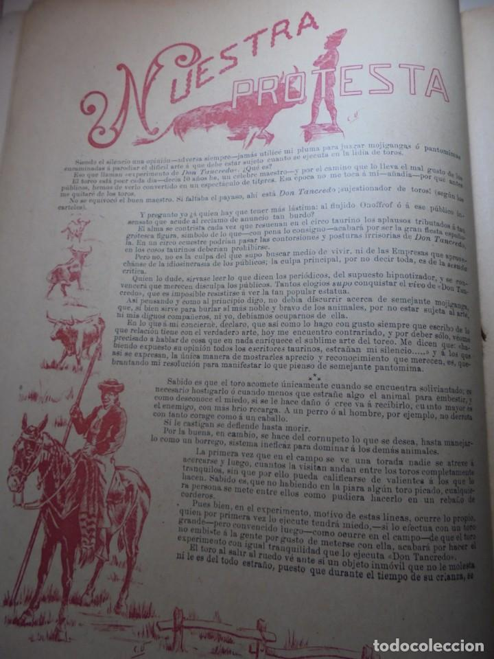 Tauromaquia: magnificas 8 revistas antiguas la ilustracion taurina del 1901 - Foto 61 - 247329780