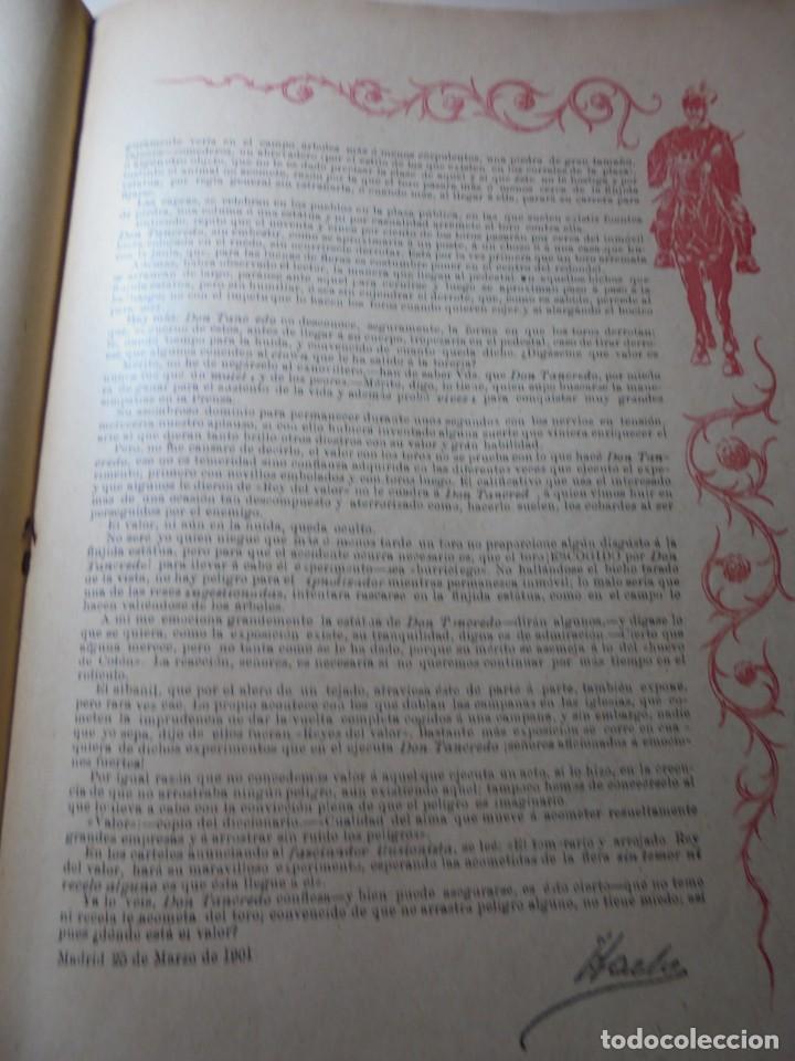 Tauromaquia: magnificas 8 revistas antiguas la ilustracion taurina del 1901 - Foto 62 - 247329780