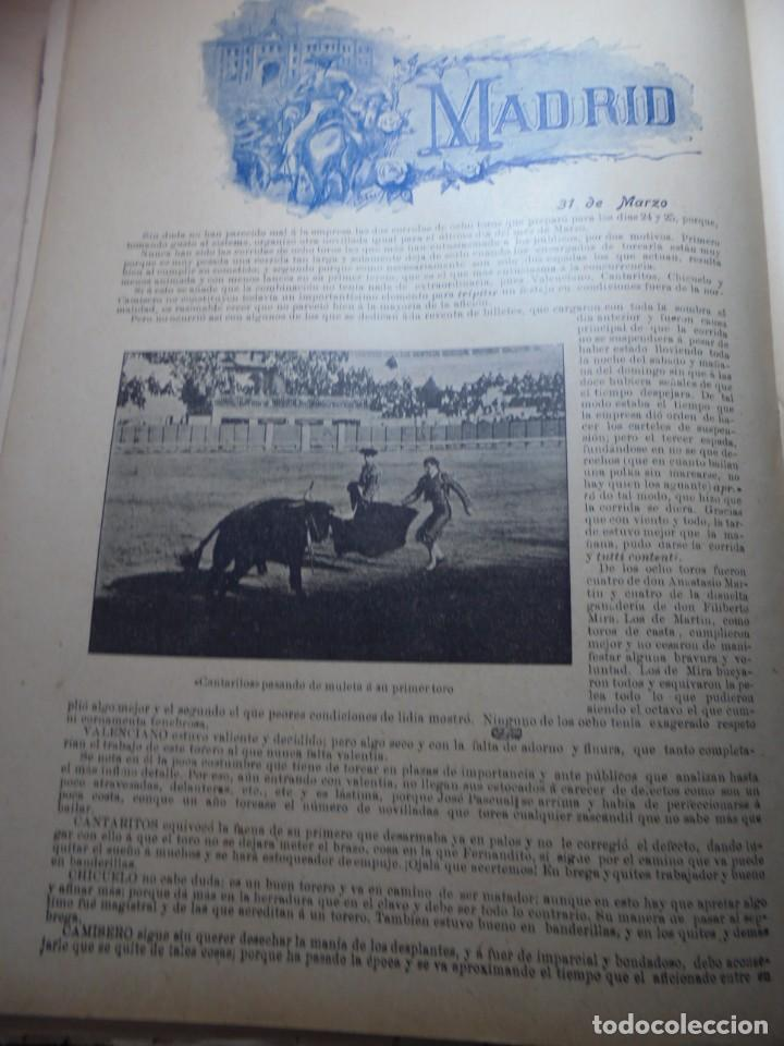 Tauromaquia: magnificas 8 revistas antiguas la ilustracion taurina del 1901 - Foto 63 - 247329780