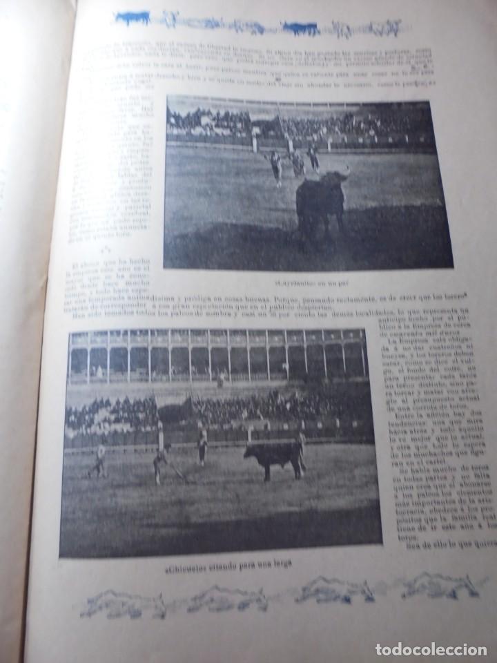 Tauromaquia: magnificas 8 revistas antiguas la ilustracion taurina del 1901 - Foto 64 - 247329780