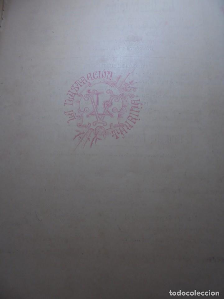 Tauromaquia: magnificas 8 revistas antiguas la ilustracion taurina del 1901 - Foto 71 - 247329780