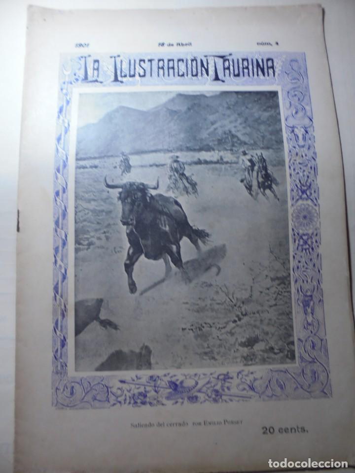 Tauromaquia: magnificas 8 revistas antiguas la ilustracion taurina del 1901 - Foto 72 - 247329780