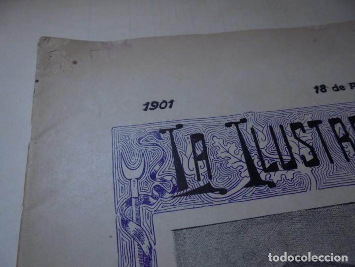 Tauromaquia: magnificas 8 revistas antiguas la ilustracion taurina del 1901 - Foto 74 - 247329780