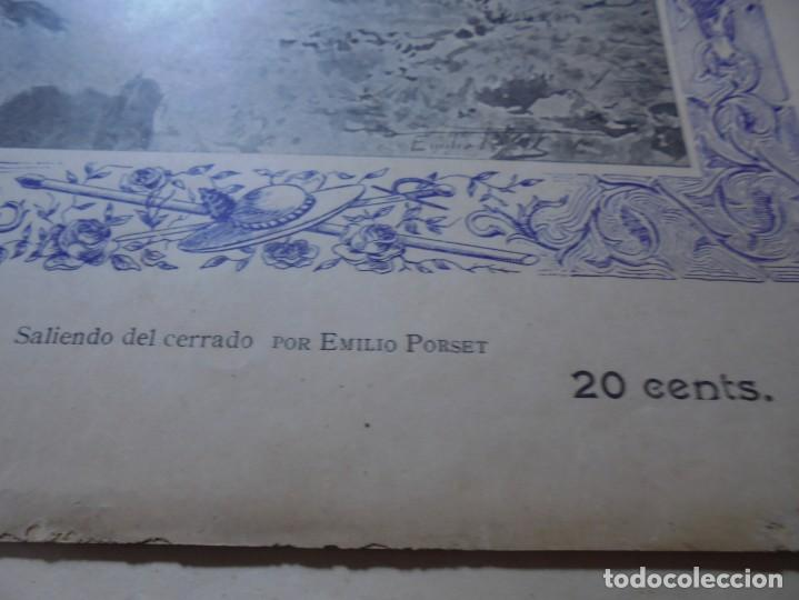 Tauromaquia: magnificas 8 revistas antiguas la ilustracion taurina del 1901 - Foto 75 - 247329780