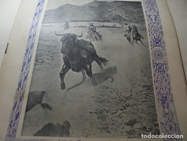Tauromaquia: magnificas 8 revistas antiguas la ilustracion taurina del 1901 - Foto 76 - 247329780