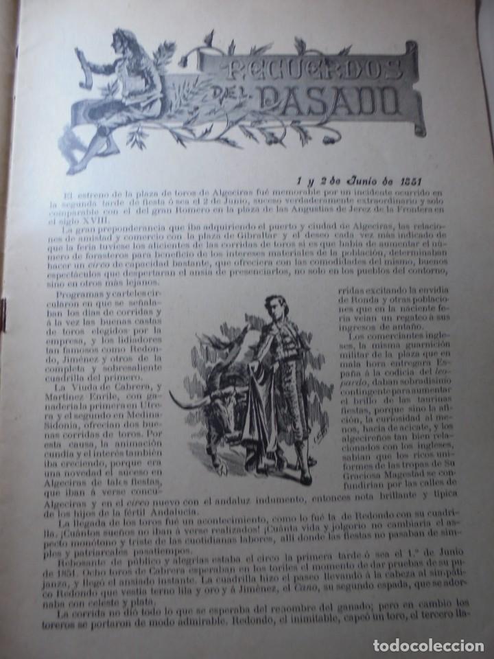 Tauromaquia: magnificas 8 revistas antiguas la ilustracion taurina del 1901 - Foto 77 - 247329780