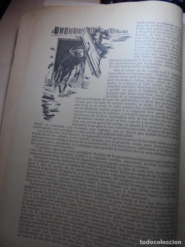 Tauromaquia: magnificas 8 revistas antiguas la ilustracion taurina del 1901 - Foto 78 - 247329780