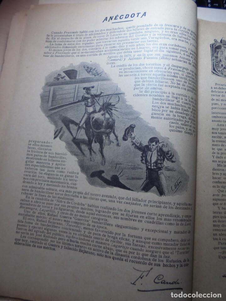 Tauromaquia: magnificas 8 revistas antiguas la ilustracion taurina del 1901 - Foto 80 - 247329780