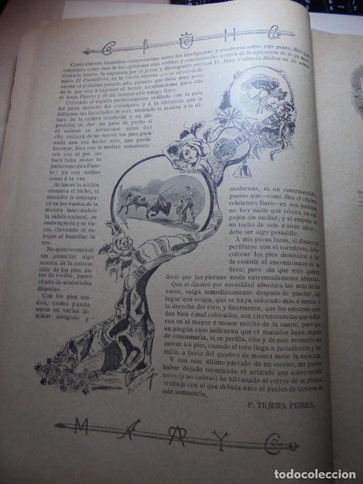 Tauromaquia: magnificas 8 revistas antiguas la ilustracion taurina del 1901 - Foto 82 - 247329780