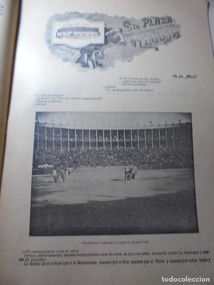 Tauromaquia: magnificas 8 revistas antiguas la ilustracion taurina del 1901 - Foto 83 - 247329780
