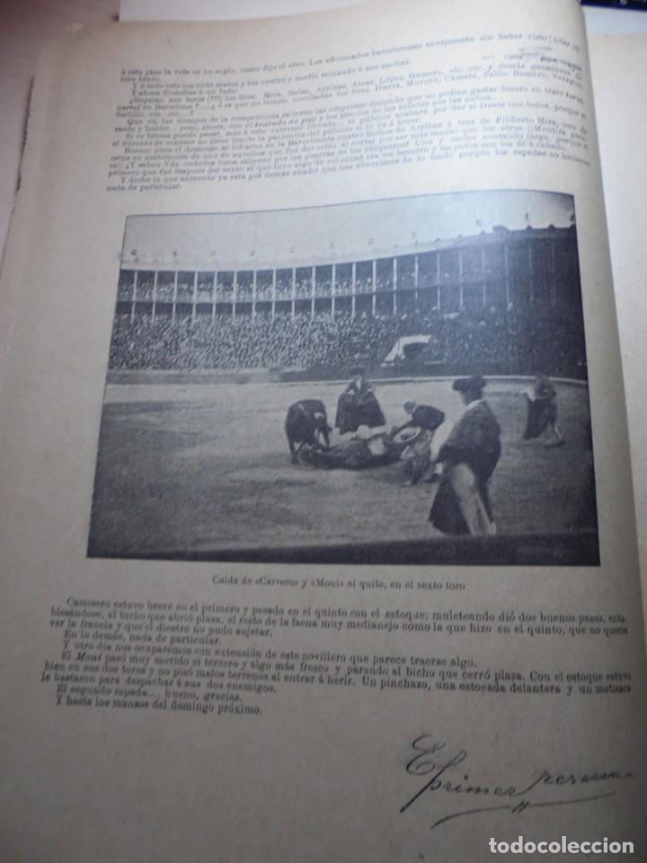 Tauromaquia: magnificas 8 revistas antiguas la ilustracion taurina del 1901 - Foto 84 - 247329780