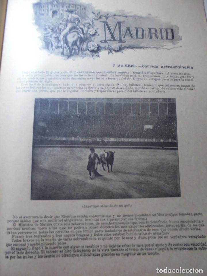 Tauromaquia: magnificas 8 revistas antiguas la ilustracion taurina del 1901 - Foto 85 - 247329780
