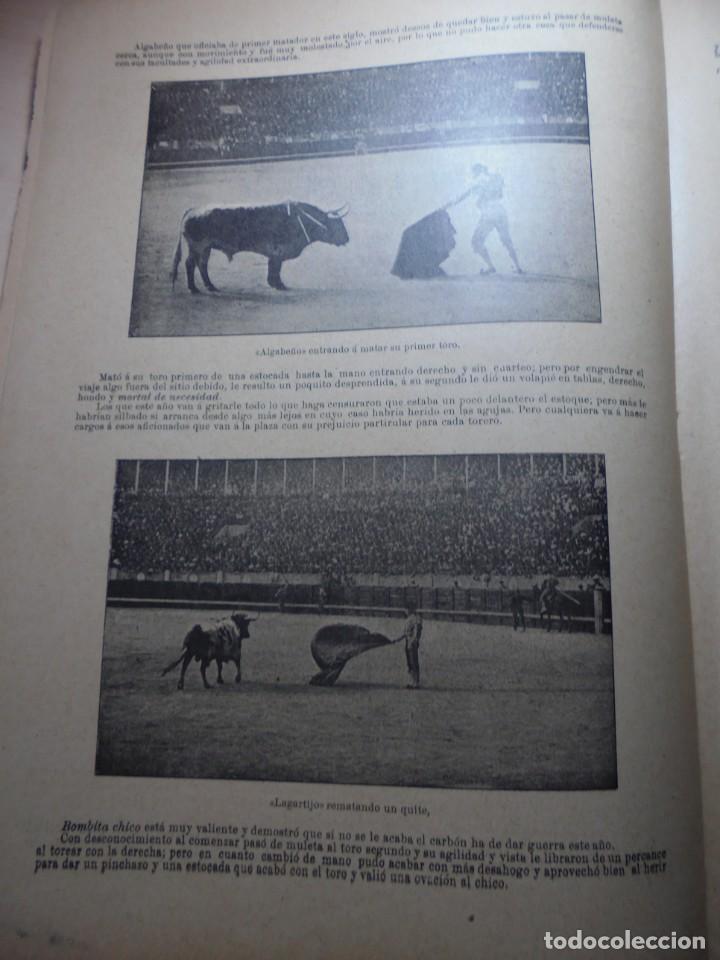 Tauromaquia: magnificas 8 revistas antiguas la ilustracion taurina del 1901 - Foto 86 - 247329780