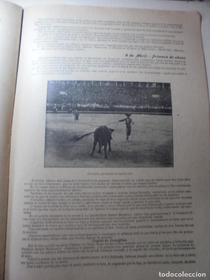 Tauromaquia: magnificas 8 revistas antiguas la ilustracion taurina del 1901 - Foto 87 - 247329780