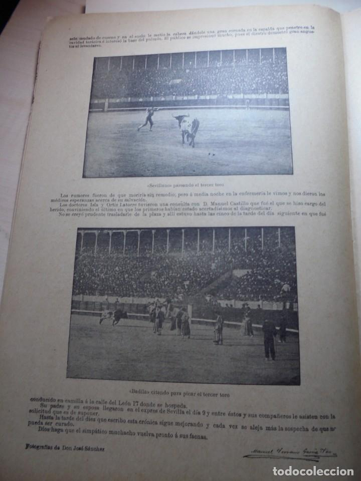Tauromaquia: magnificas 8 revistas antiguas la ilustracion taurina del 1901 - Foto 88 - 247329780