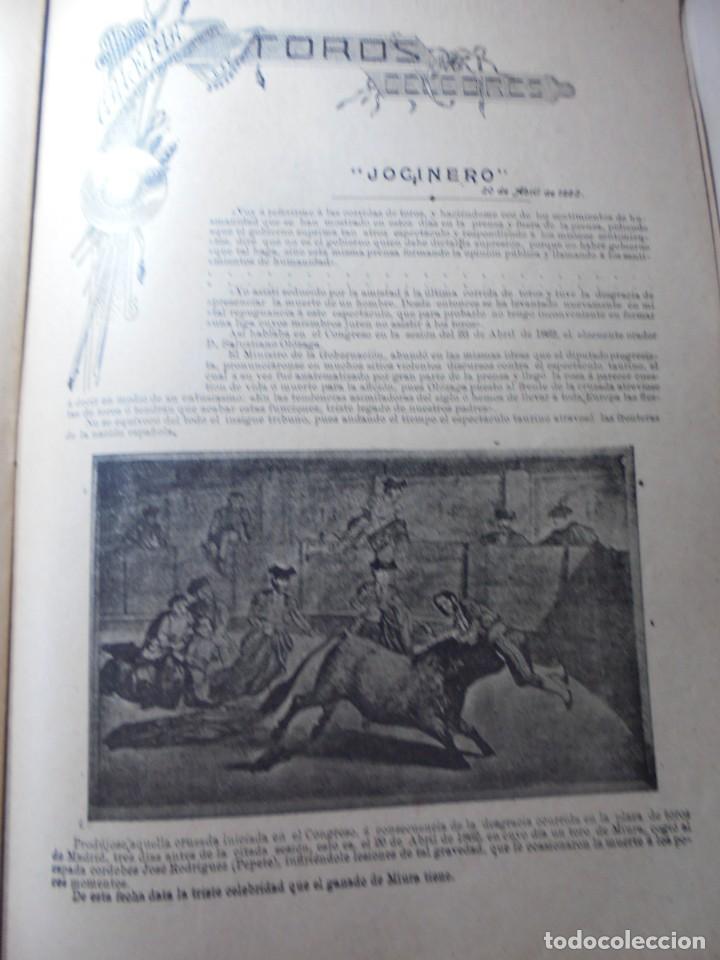 Tauromaquia: magnificas 8 revistas antiguas la ilustracion taurina del 1901 - Foto 89 - 247329780
