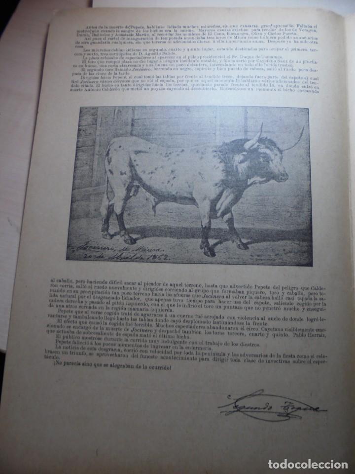 Tauromaquia: magnificas 8 revistas antiguas la ilustracion taurina del 1901 - Foto 90 - 247329780