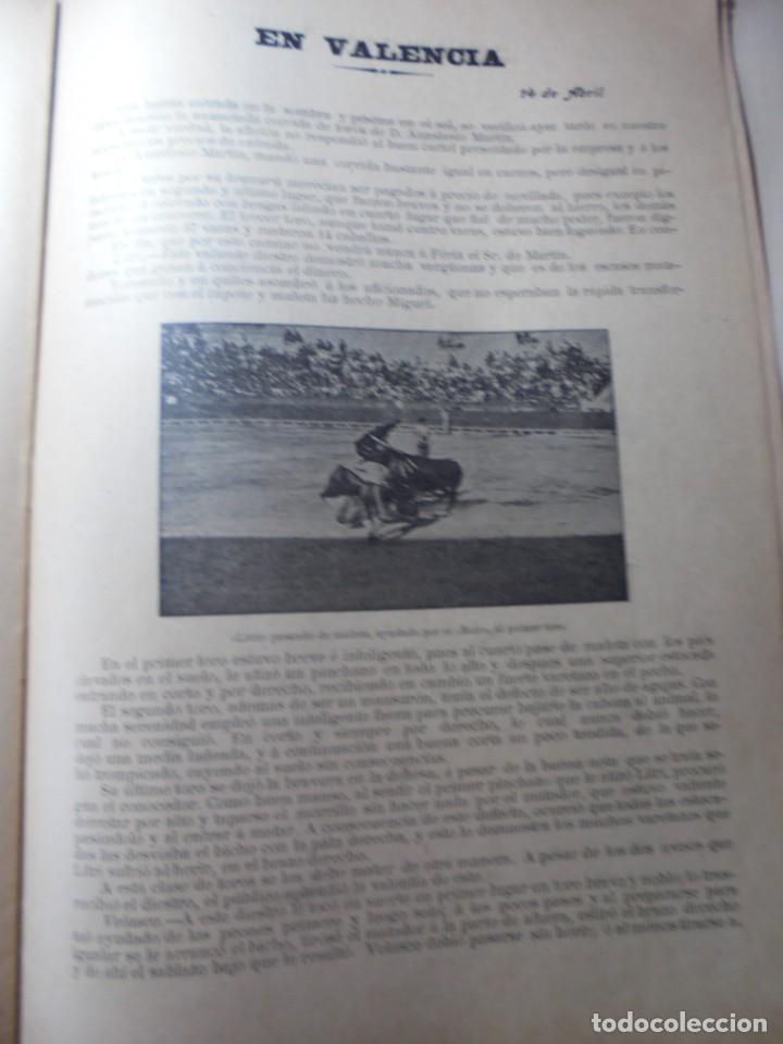 Tauromaquia: magnificas 8 revistas antiguas la ilustracion taurina del 1901 - Foto 91 - 247329780