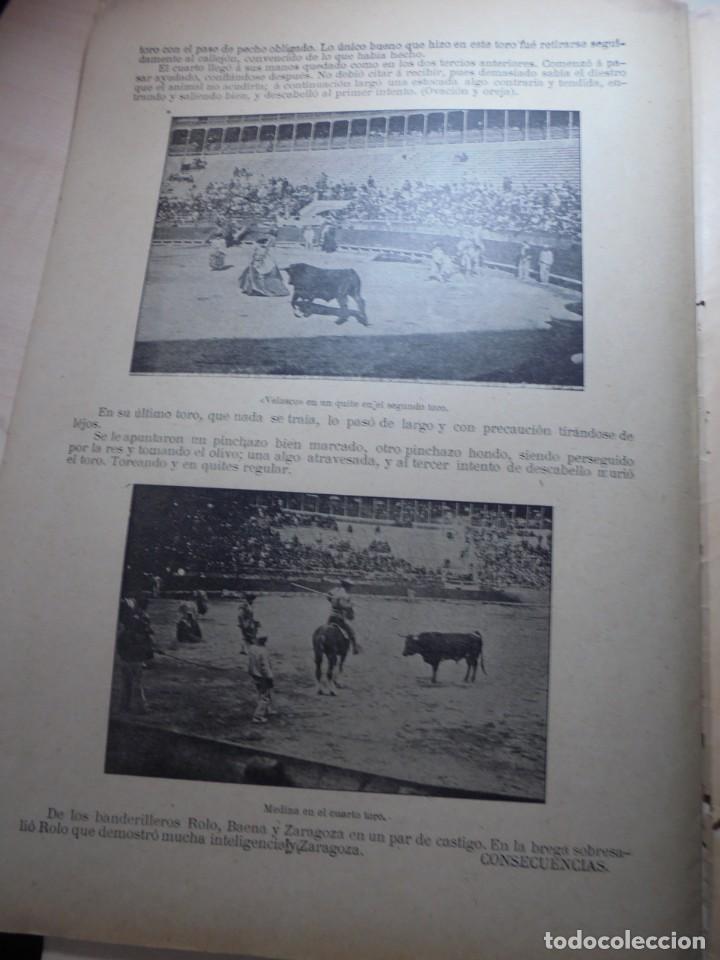 Tauromaquia: magnificas 8 revistas antiguas la ilustracion taurina del 1901 - Foto 92 - 247329780