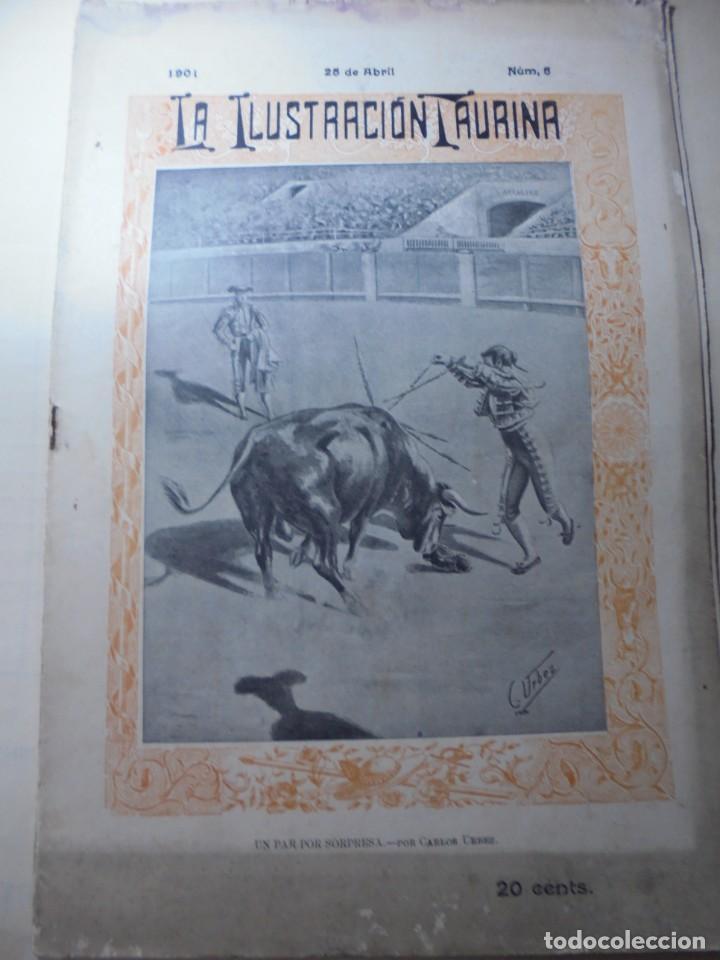 Tauromaquia: magnificas 8 revistas antiguas la ilustracion taurina del 1901 - Foto 95 - 247329780