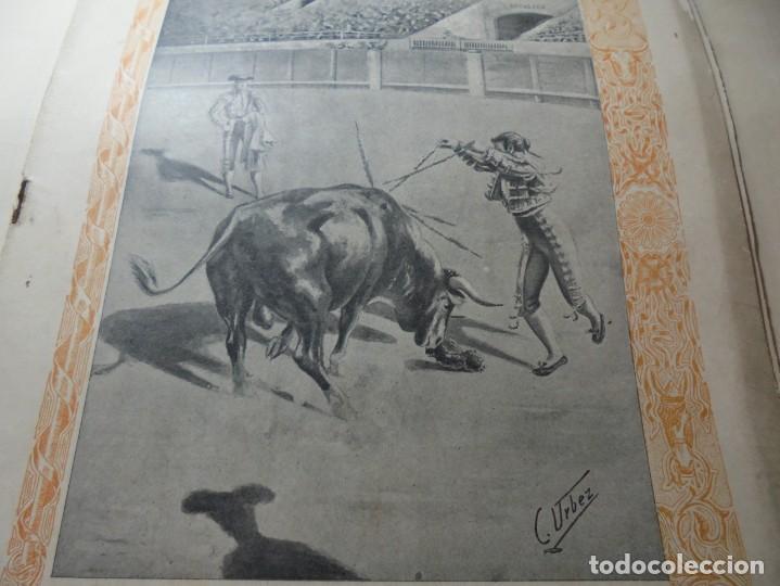 Tauromaquia: magnificas 8 revistas antiguas la ilustracion taurina del 1901 - Foto 99 - 247329780