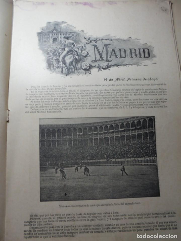 Tauromaquia: magnificas 8 revistas antiguas la ilustracion taurina del 1901 - Foto 100 - 247329780