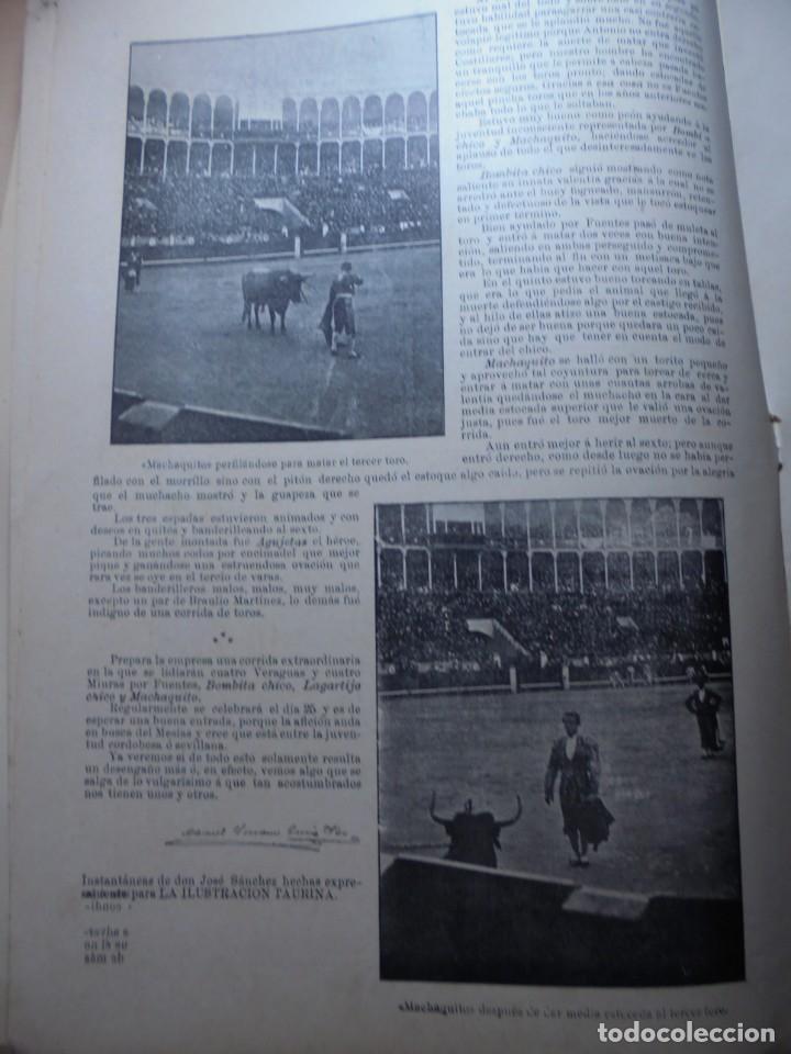 Tauromaquia: magnificas 8 revistas antiguas la ilustracion taurina del 1901 - Foto 101 - 247329780