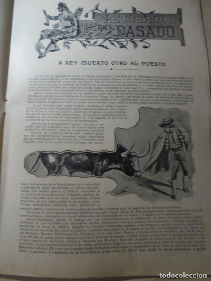 Tauromaquia: magnificas 8 revistas antiguas la ilustracion taurina del 1901 - Foto 102 - 247329780